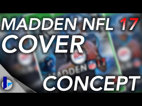 Madden NFL 17 - Cover Concept Speed Art (Photoshop CC)