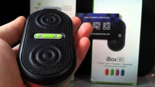 Mini Speaker (iBox M1) Inbuilt Battery / MP3 / FM Radio / Bass Speaker Layer / AUX-IN / AUDIO-OUT