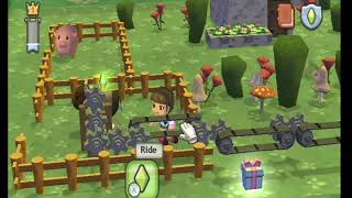 MySims Kingdom Gameplay on the Nintendo Wii 1/2