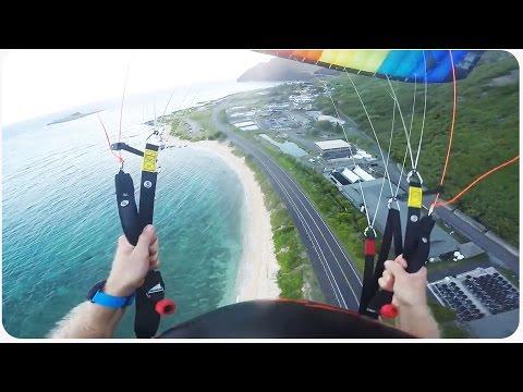 INSANE Parachute Beach Swoop   Wait For It