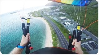 INSANE Parachute Beach Swoop | Wait For It