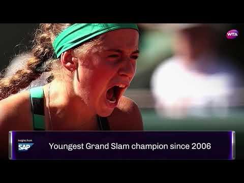 Jelena Ostapenko season highlights