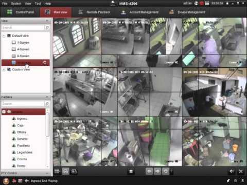 Visualizar DVR Hikvision En IVMS 4200