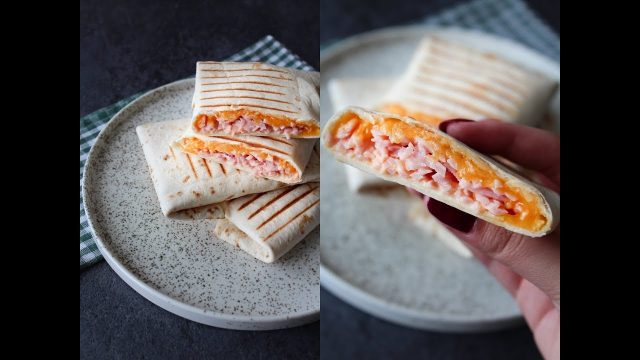 Ham, Cheese And Chili Mayo Wraps - Fast Food Friday - One ...