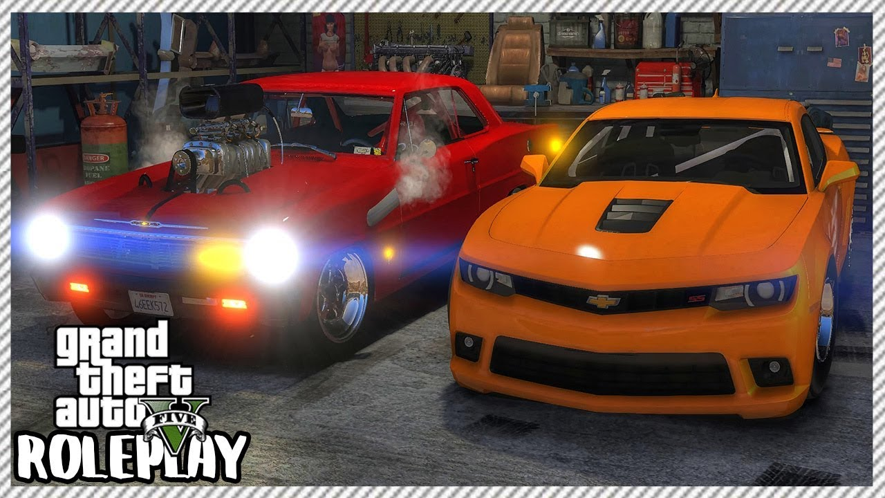 GTA 5 Roleplay - 'HUGE' Camaro SS Drag Racing Crash | RedlineRP #342