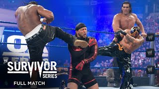 FULL MATCH - Team HBK vs. Team JBL – 5-on-5 Survivor Series Elimination Match: Survivor Series 2008