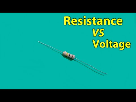 Resistance Vs Voltage