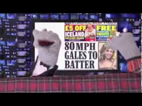Daily Express Weather - Scottish Falsetto Sock Puppet Theatre