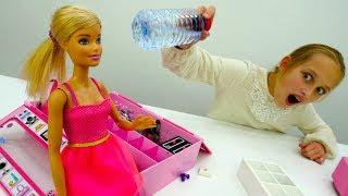 Флип Ботл #ЧЕЛЛЕНДЖ от #Барби и Лучшей подружки Вари! Видео для девочек. Игры куклы