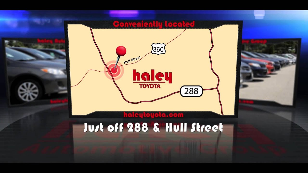 Haley Toyota Website Video