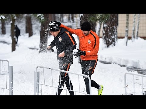 Winter in November. Morning training session (14/11/2016)