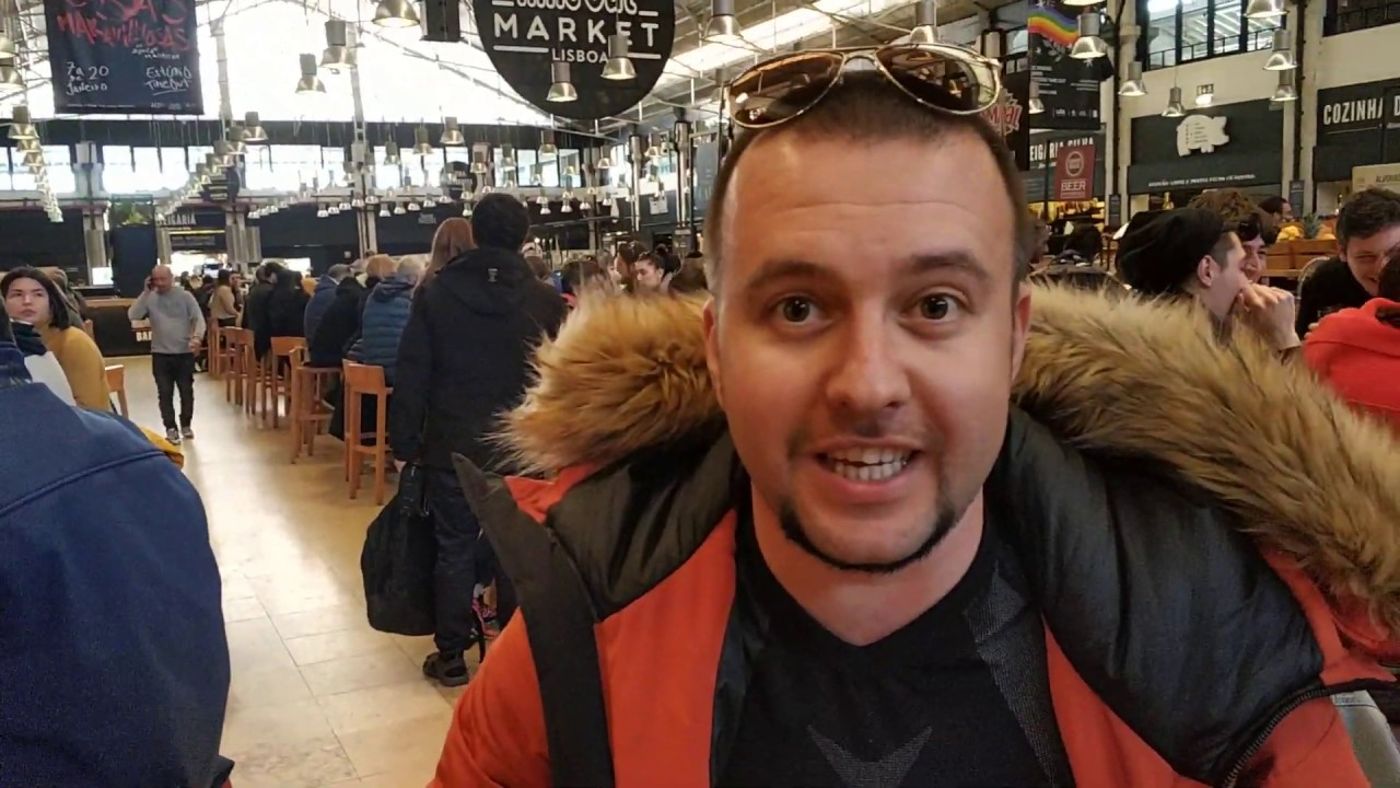 Рынок Рибейра Лиссабон Португалия