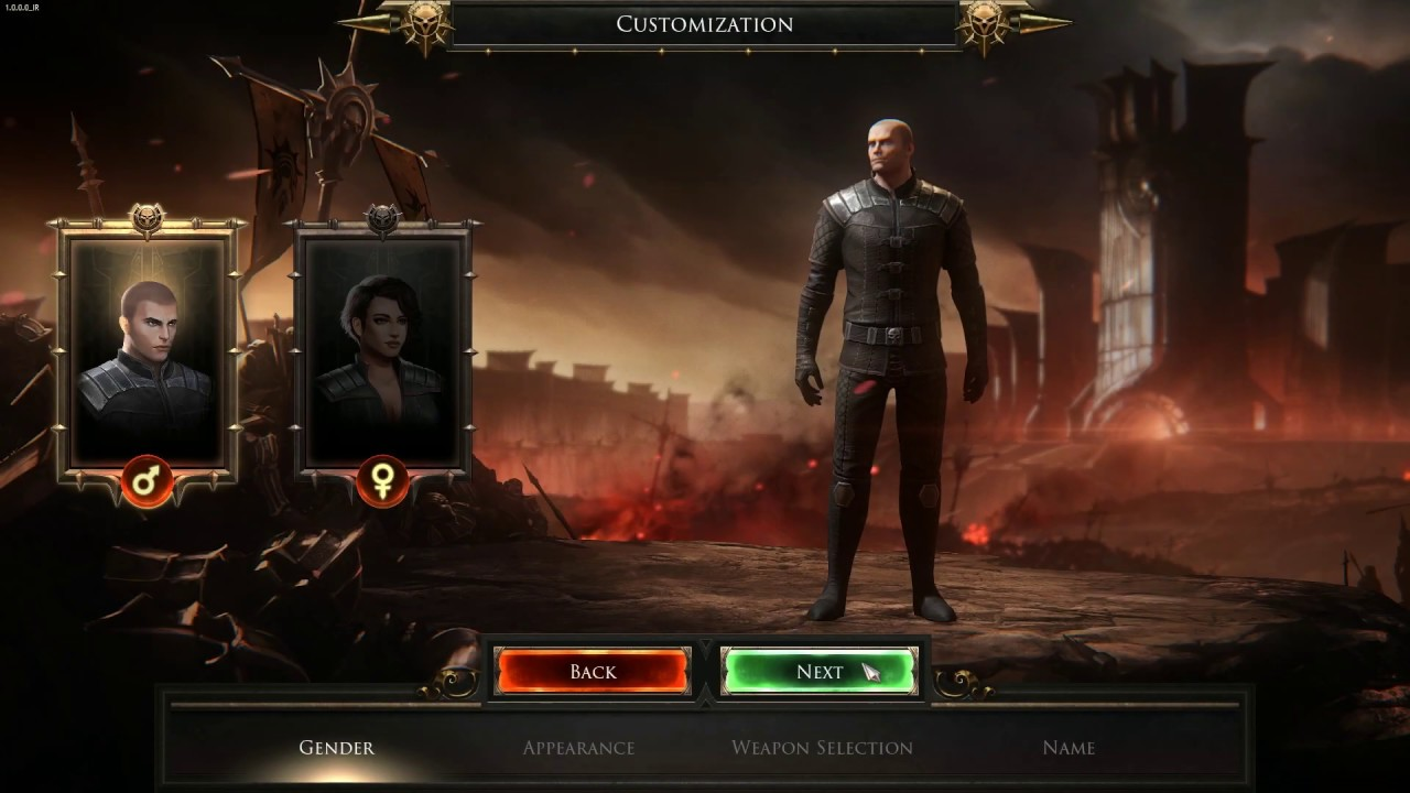 Final release date for Wolcen - Character Customization Preview