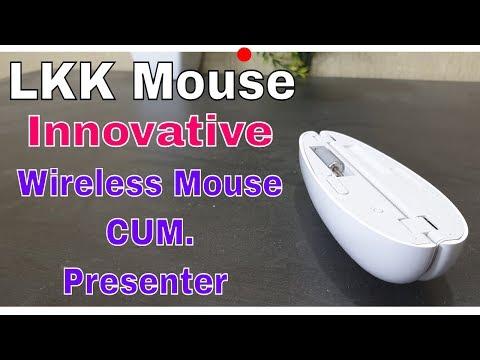 LKK Innovative Wireless Mouse cum Presenter with Laser Pointer....