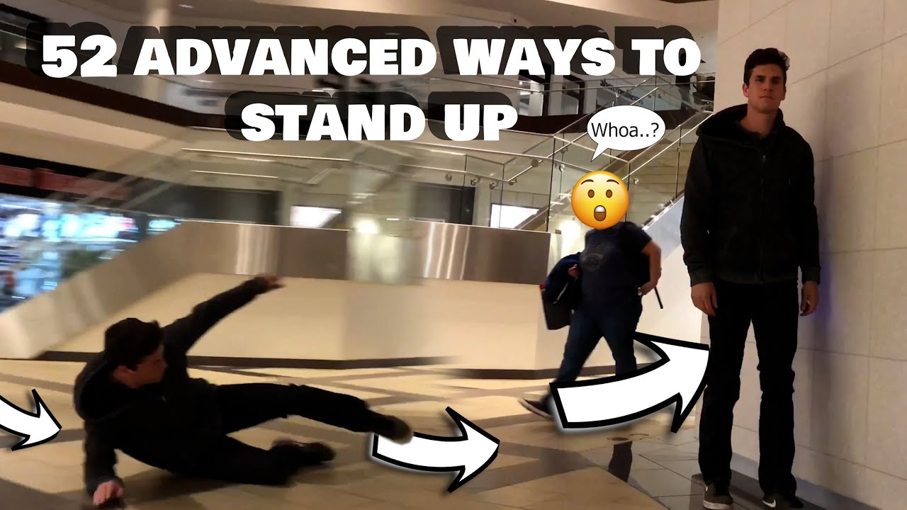 52 ADVANCED WAYS TO STAND UP
