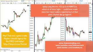 121517 -- Daily Market Review ES CL GC NQ - Live Futures Trading Call Room