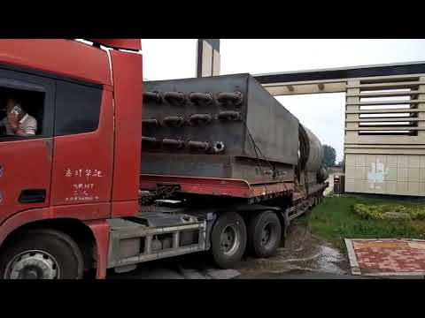 delivery our pyrolysis plant to qingdao sea port