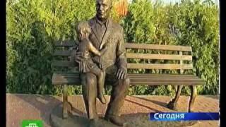 Памятник ветерану в Тамбове