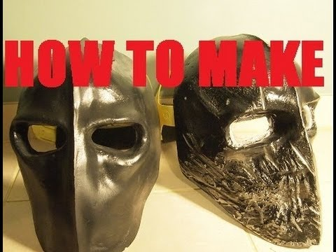 Häufig How to Make: Army of Two Style Mask (for Paintball/Airsoft) - YouTube AA24