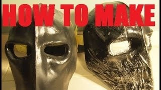 How to Make: Army of Two Style Mask (for Paintball/Airsoft)