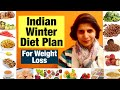 Indian winter diet plan for Weight Loss | Best & Easy Diet For Winters to Lose Weight | In Hindi