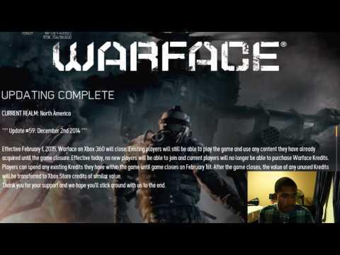 WARFACE SHUTTING DOWN? (Xbox 360 Edition)
