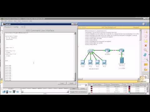 Cisco Packet Tracer 3: настройка Nat