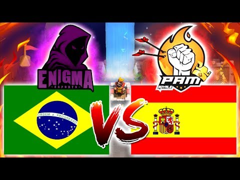 AO VIVO - ENIGMA Esports (BRA) Vs PAM Esports (ESP) (COPA LATAM de Clash Royale)