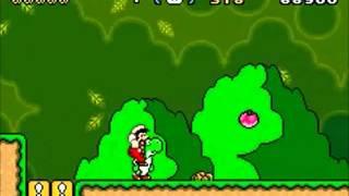 Super Mario Advance 2: Super Mario World (GBA) - World 1