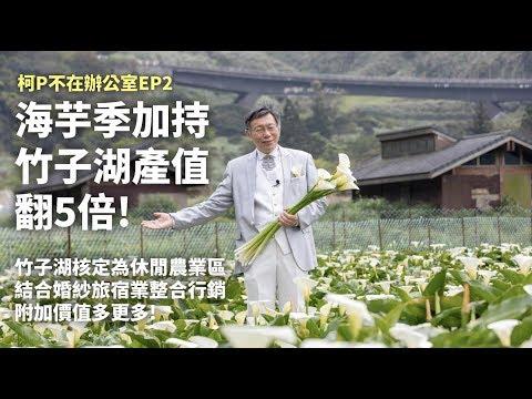 柯文哲拼海芋觀光經濟/串連竹子湖農家行銷產值翻5倍!!【柯P不在辦公室.EP2】