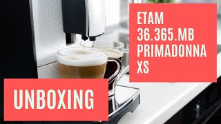 UNBOXING SMALLEST FULL EXPRESS DeLonghi ETAM 36.365.MB PrimaDonna XS VIDEO