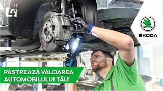Păstrează valoarea automobilului tău ŠKODA!