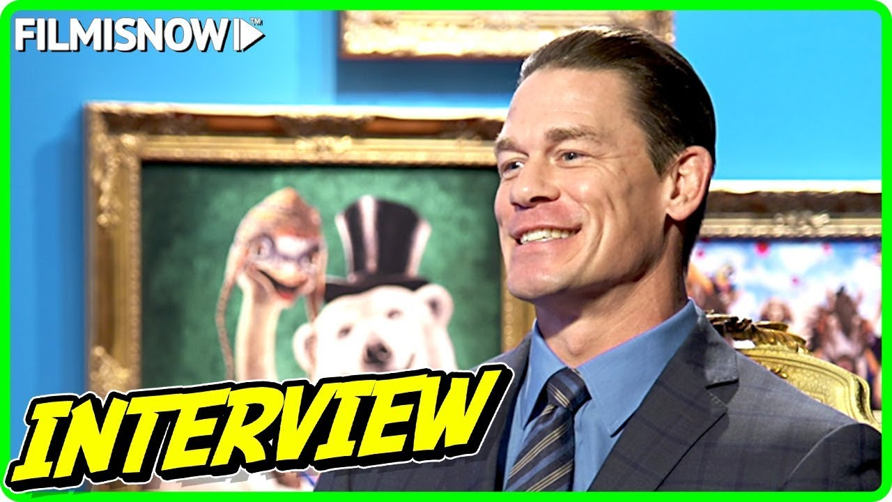 John Cena Interview for DOLITTLE