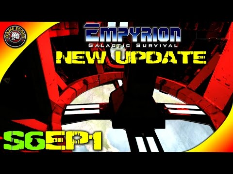Empyrion Galactic Survival - NEW UPDATE! V3.7.0 Survival Constructor, Troop Transport  - S6EP1