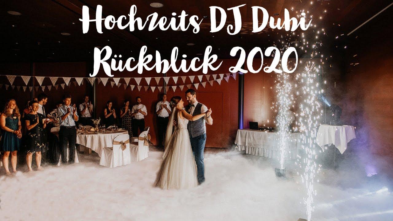Jahresrückblick 2020 Hochzeits DJ Dubi Luzern / Zentralschweiz
