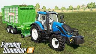 Zbieranie trawy na kiszonkę - Farming Simulator 19 | #14
