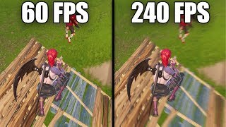 What Fortnite in 240FPS REALLY Looks Like