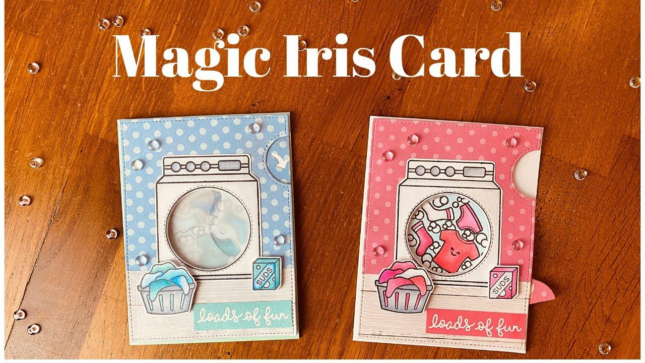 ☀️💞 lawn fawn i magic iris card i diy ☀️💞  youtube