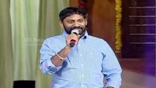Srikanth Addala Director - Seethamma Vakitlo Sirimalle Chettu Audio Launch - SVSC