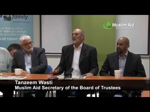 Muslim Aid - MoU Signing with Balham Mosque & Tooting Islamic Centre, 23  June 2011