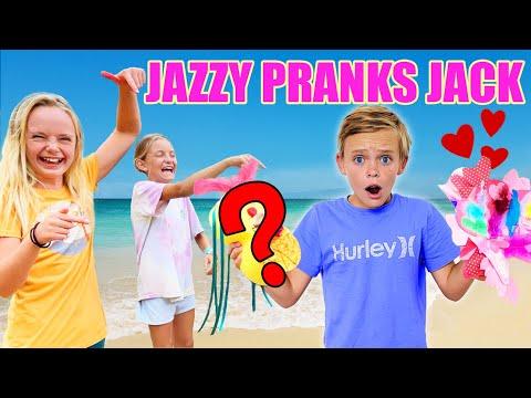 Ultimate Prank on my brother Jack! Jazzy Skye! |
