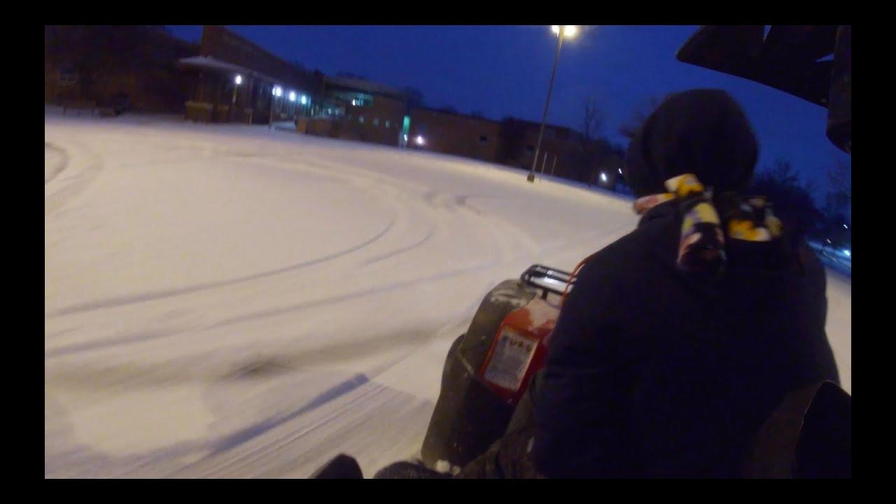 ATV DRIFTING!!! (GONE WRONG)