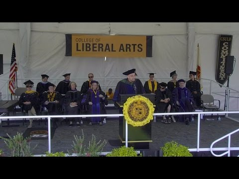 2016 CSULB Commencement - College of Liberal Arts Ceremony 2