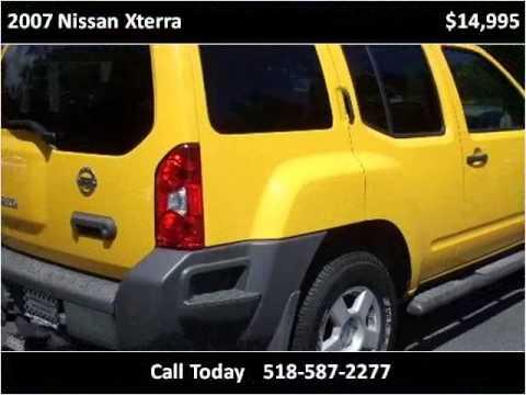 2007 Nissan Xterra Used Cars Saratoga Springs NY - YouTube