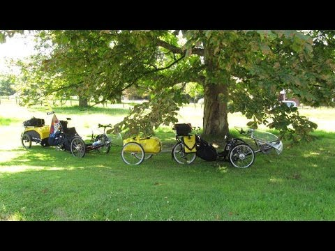 ICE TRIKE ON TOUR PART ONE LONDON TO HASTINGS JULY 2014