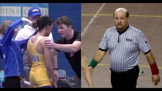 Referee Who Forced Black Wrestler To Cut Dreadlock Says He's Suffering From 'Emotional Distress'