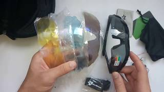 Поляризованные очки Rockbros с 5 сменными линзами (Рокброс с поляризацией), обзор, отзывы