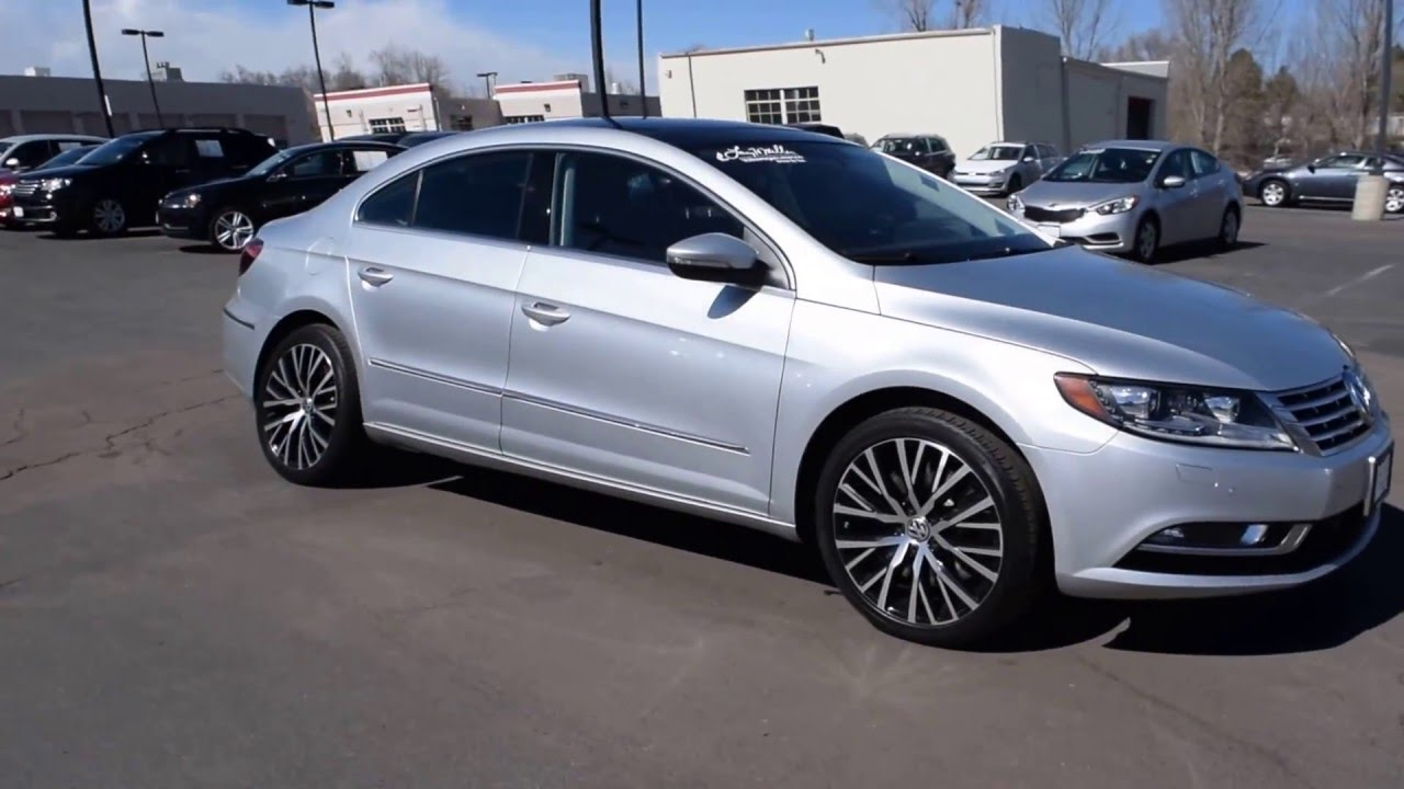 Larry Miller Volkswagen >> 2014 Volkswagen CC VR6 4Motion Executive LHM VW Lakewood PV6804 - YouTube