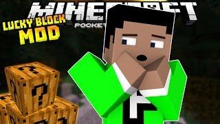 HALLOWEEN LUCKY BLOCK MOD!!! - Lucky Block Challenge - Minecraft PE (Pocket Edition)