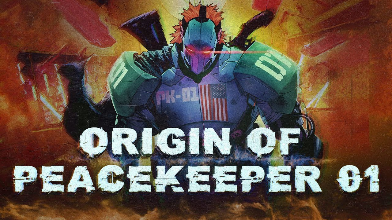 Batman: Origin Of Peacekeeper-01 (New Villain)